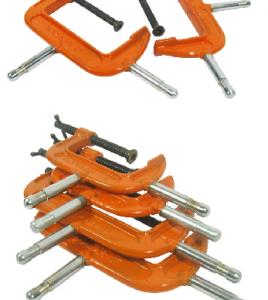Prenza de carpintero de 4 y 6 pulgadas con perno